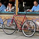 Coffee Break in Kensington Market by Gerda Grice
