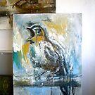 Blue Nightingale by James Kearns