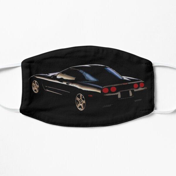 Black Corvette C5  Flat Mask