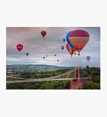 02 Bristol Balloon Fiesta Photographic Print