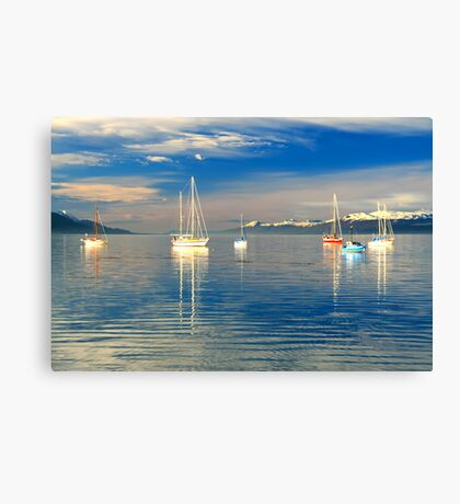 Ushuaia Harbour Canvas Print