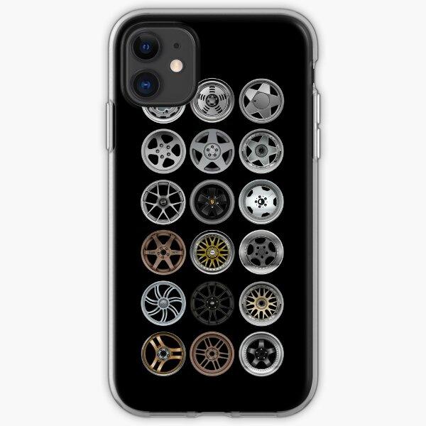 rims rims rims iPhone Soft Case