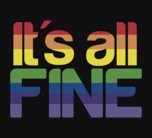 It's all fine