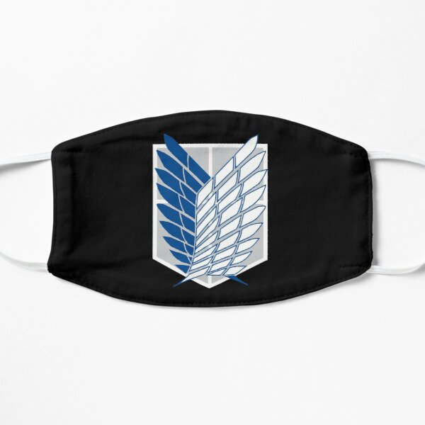 Attack on Titan - Wings of Freedom (bleu) Masque sans plis