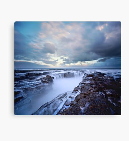 The Clouds Above Canvas Print
