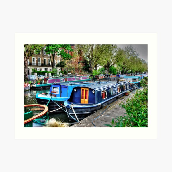 Regent's Canal 2 Art Print