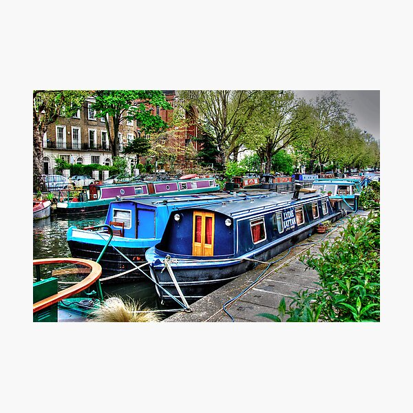 Regent's Canal 2 Photographic Print