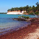 Stony beach in topical Arnhem Land by georgieboy98