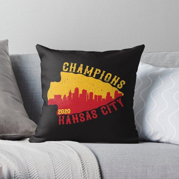 Champions Kansas City 2020 Throw Pillow