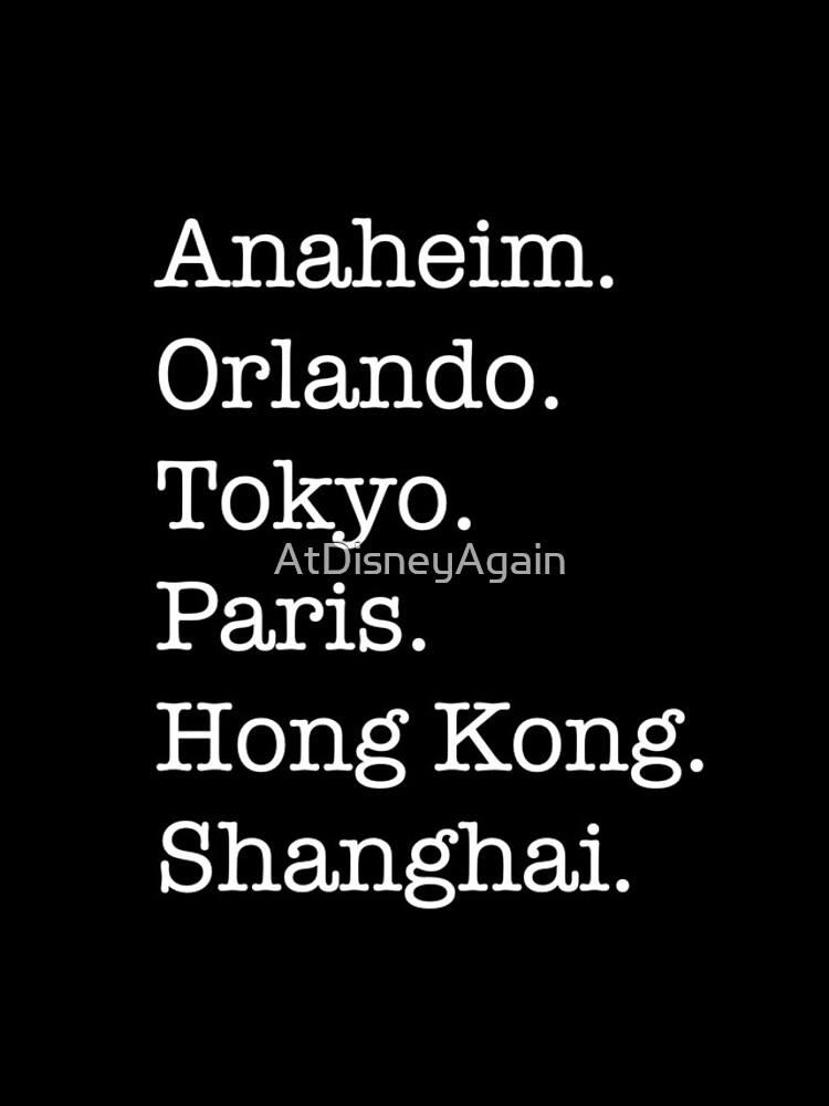 Six Cities by AtDisneyAgain