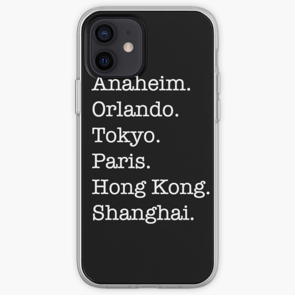 Six Cities iPhone Case & Cover