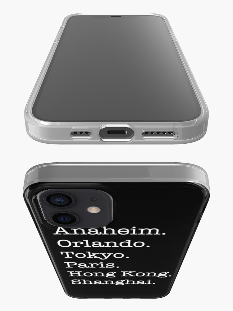 Alternate view of Six Cities iPhone Case & Cover