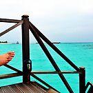 Relaxing by the Indian Ocean by Ryan Davison Crisp