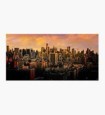 Gotham Sunset Photographic Print