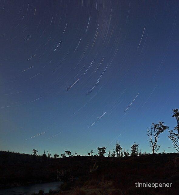 Iris River Star Trail by tinnieopener