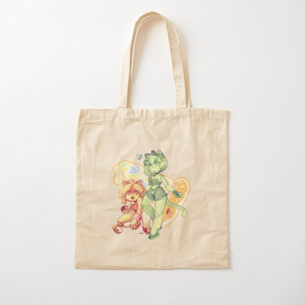 80's Rollerderby Delivery Cats Cotton Tote Bag
