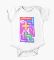 All 12 Free Pentominoes One Piece - Short Sleeve