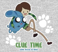 Clue Time with Steve & Blue