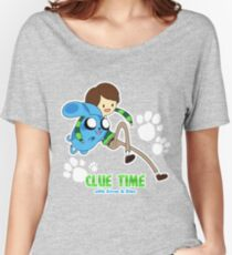 Clue Time with Steve & Blue Women's Relaxed Fit T-Shirt