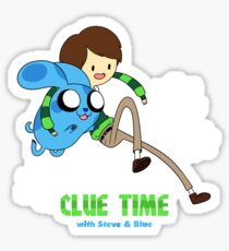 Clue Time with Steve & Blue Sticker