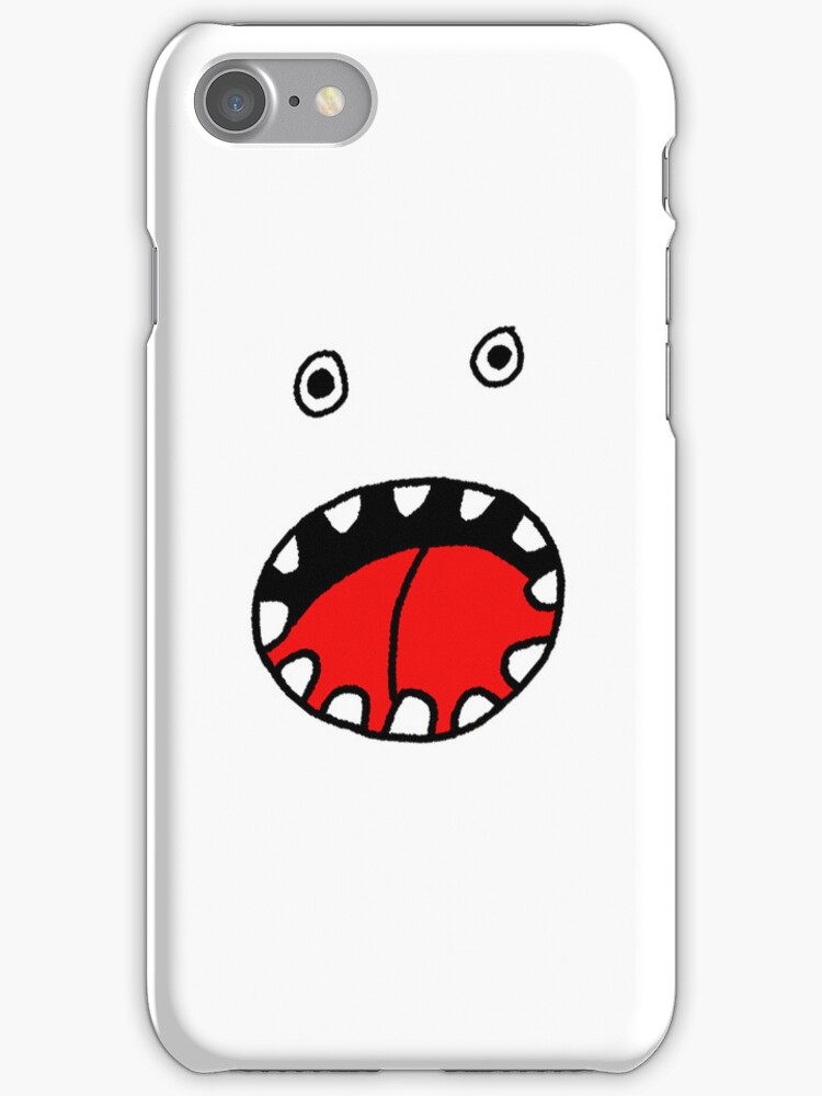 Monster Mashup iPhone Case 2 by bradwoodgate