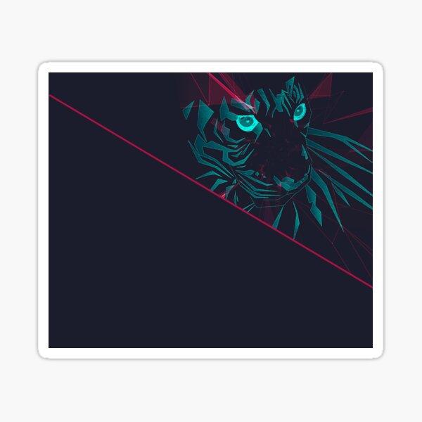 Zodiac Tiger Sticker