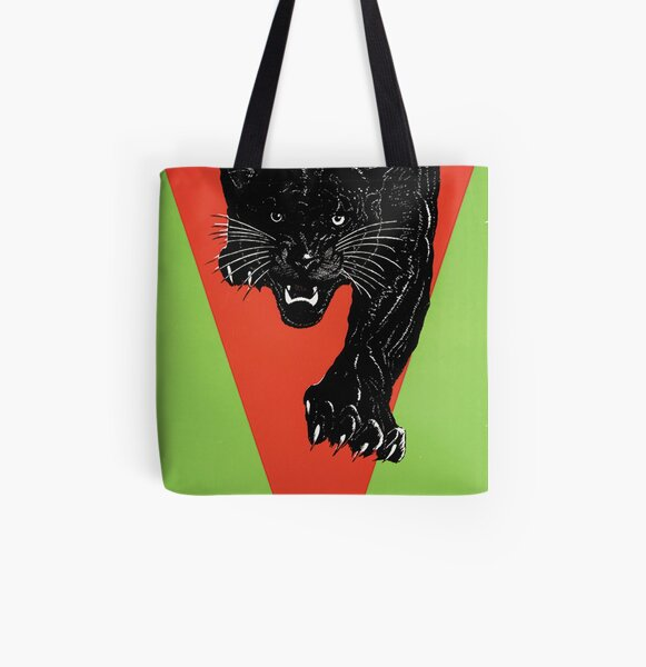 Cat Lovers Gift BLACK PANTHER TOTE Bag
