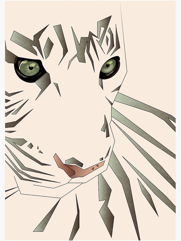 Tiger's Tranquility by schwebewesen