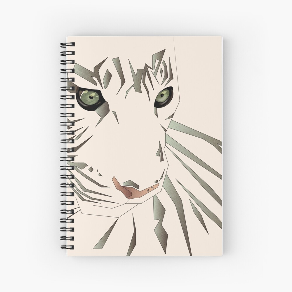 Tiger's Tranquility Spiral Notebook