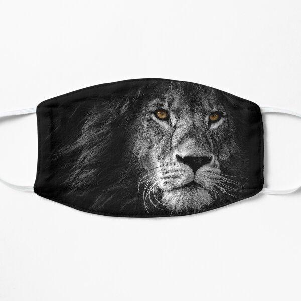 Lion Face Maks Flat Mask