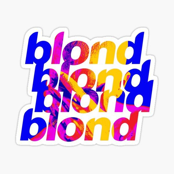 Blond Frank Ocean Infrared (first version) Sticker