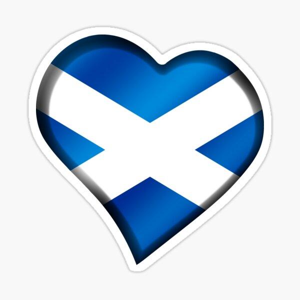 Rugby Football Scotland Edinburgh Glasgow Scottish Flag Car Window Sticker