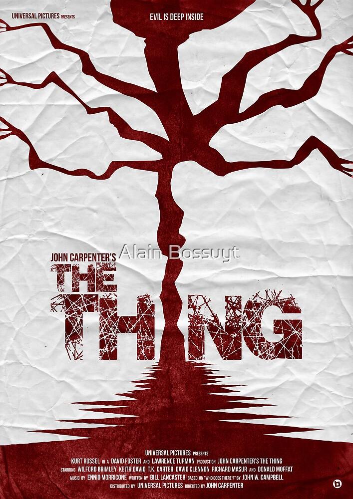 John Carpenter's The Thing by Alain Bossuyt