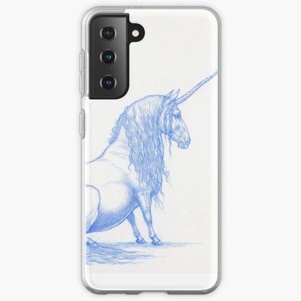 Pudgy Unicorn Samsung Galaxy Soft Case