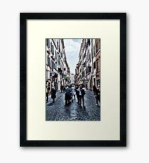 ROME - STREETSCAPE ... (2) Framed Print