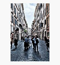 ROME - STREETSCAPE ... (2) Photographic Print