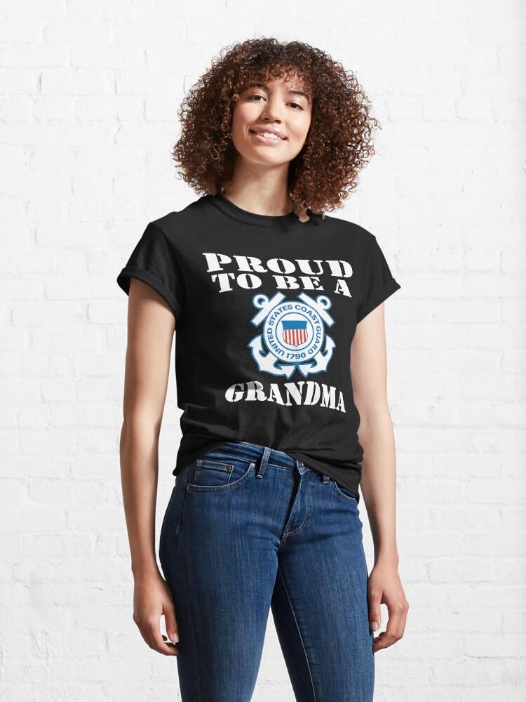 Alternate view of Proud To Be A CG Grandma Design Classic T-Shirt