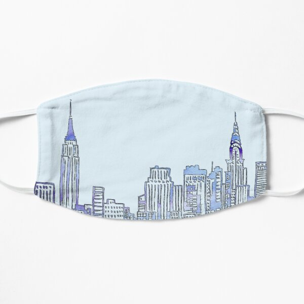 NYC Skyline Mask