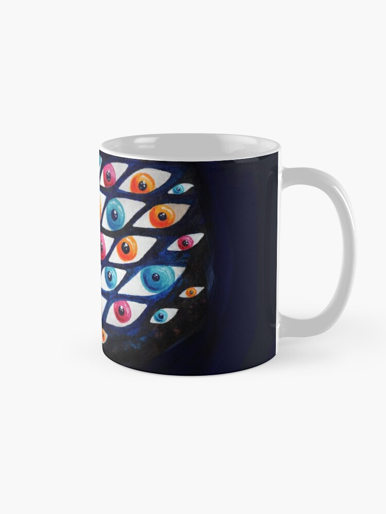 Alternate view of EyeCloud Mug