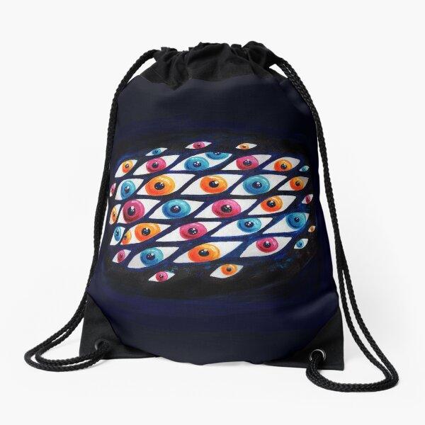 EyeCloud Drawstring Bag