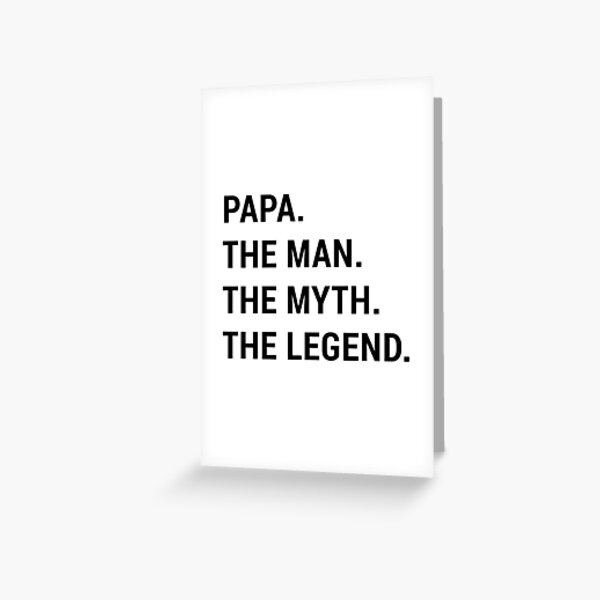 Father's day funny dad gift  Greeting Card