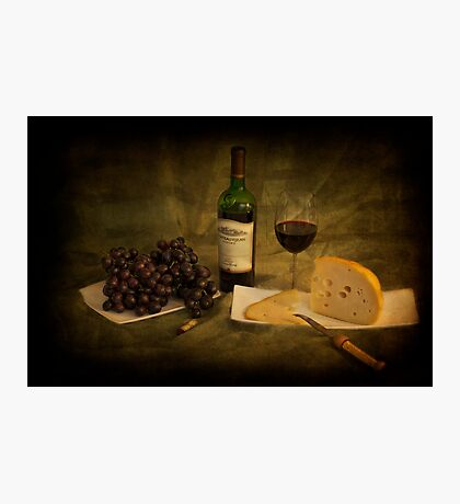 Have a Glass of Red Photographic Print