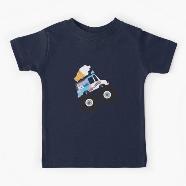 Ice Cream Monster Truck Kids T-Shirt