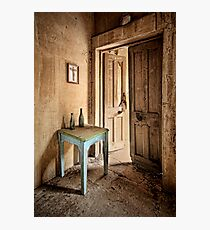 The Blue Table Photographic Print