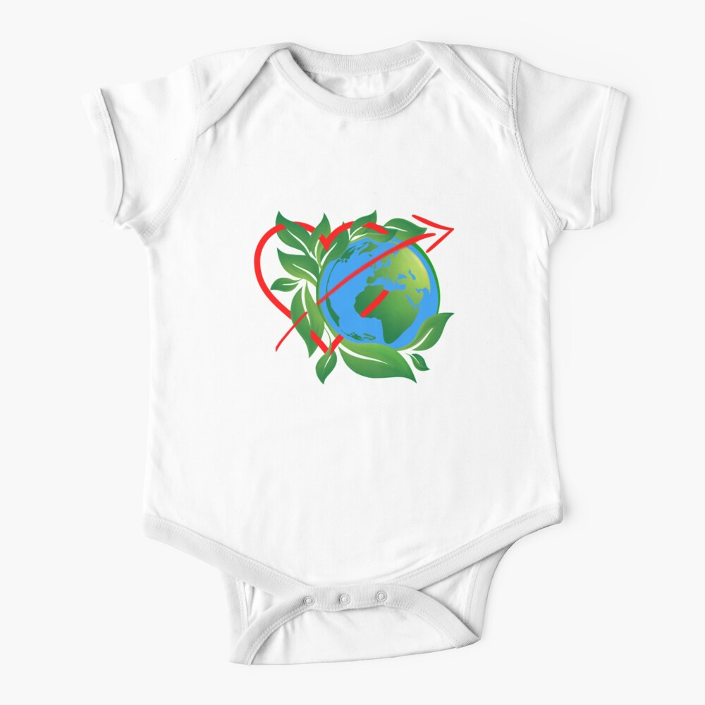Earth Day Everyday  Baby One-Piece