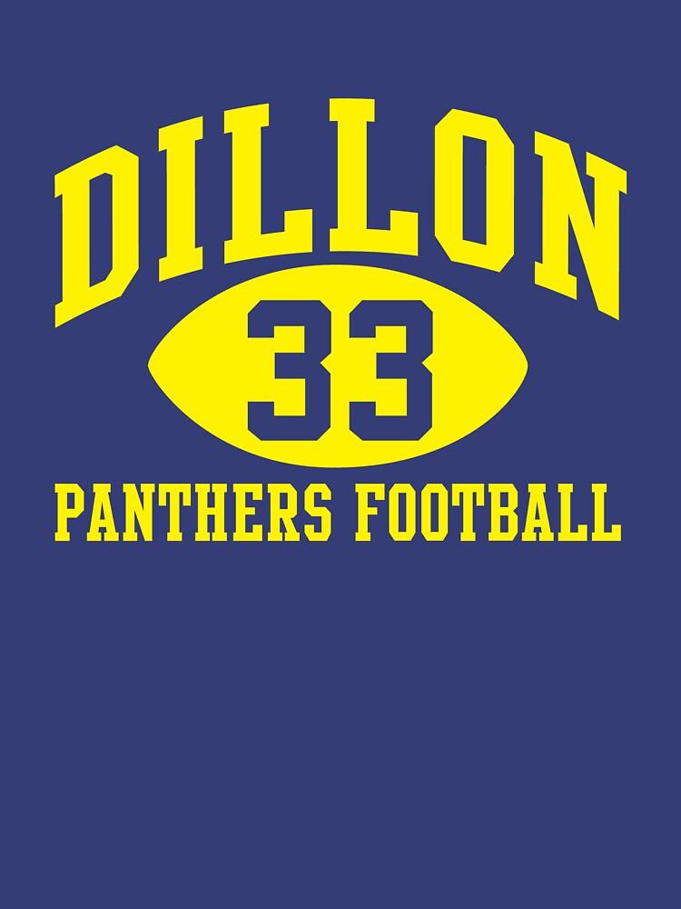 Dillon Panthers Football #33 | Unisex T-Shirt