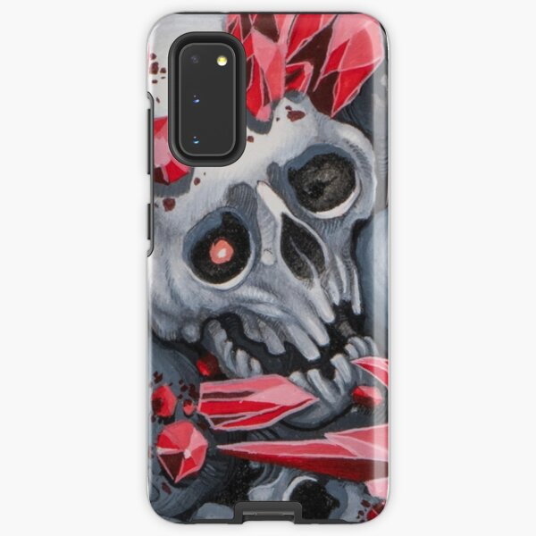 Crystal skull Samsung Galaxy Tough Case