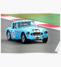 Austin Healey 3000 No75 Poster