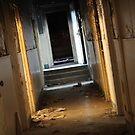 The Dimly Lit Corridor by Lyndsay Brown