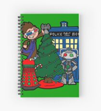 Tenth Christmas! Spiral Notebook